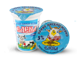 """Краве кисело мляко """"ЕЛЕНА"""""""